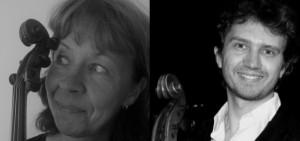 Gruppbild viola & cello